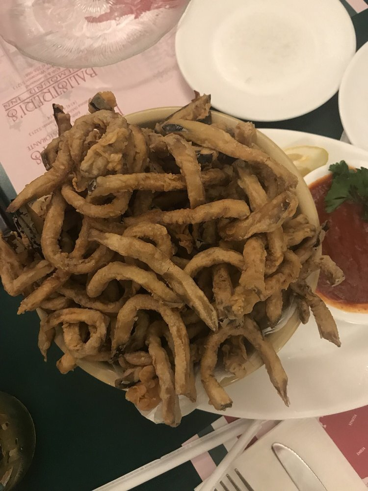 Deep fried eggplant strips picture 466