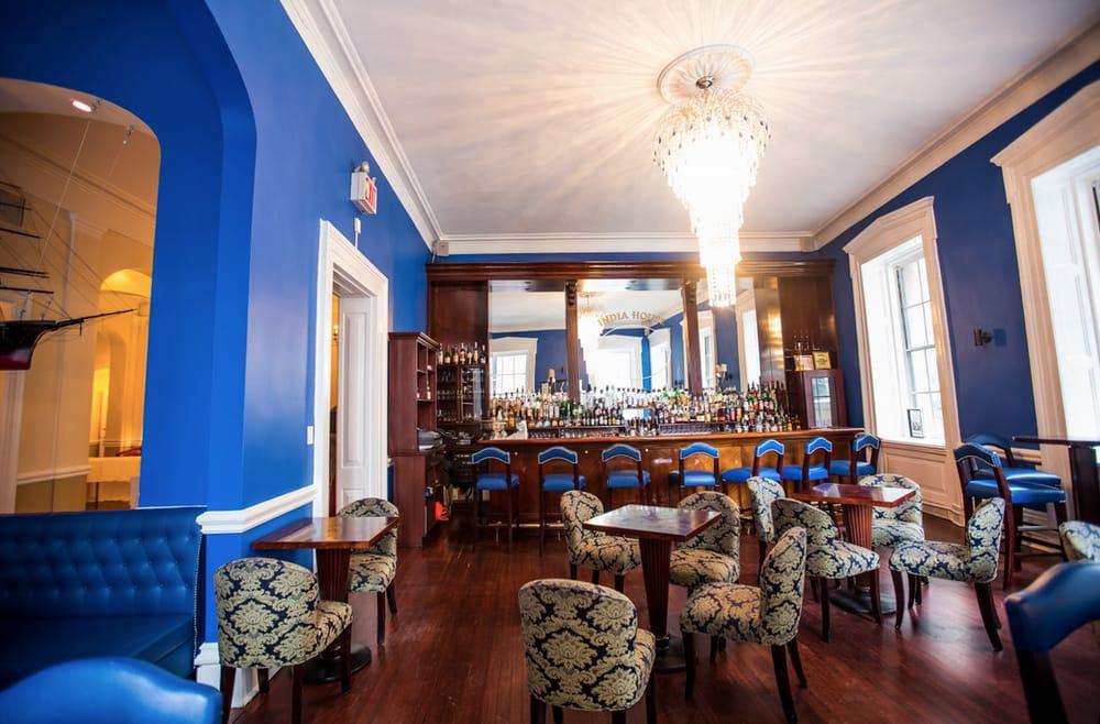 Photo of Blue Bar At India House - New York, NY, United States. Blue Bar at India House