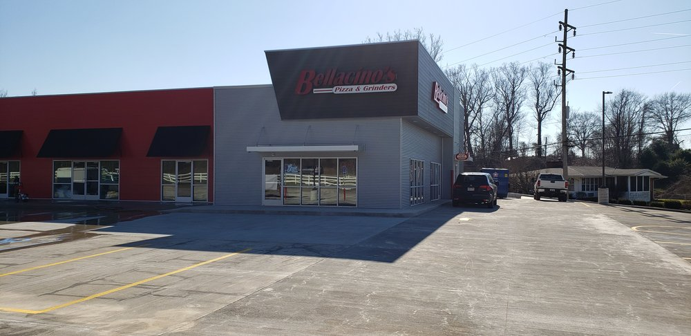 Bellacino's Pizza & Grinders: 214 Collins Ave, South Point, OH