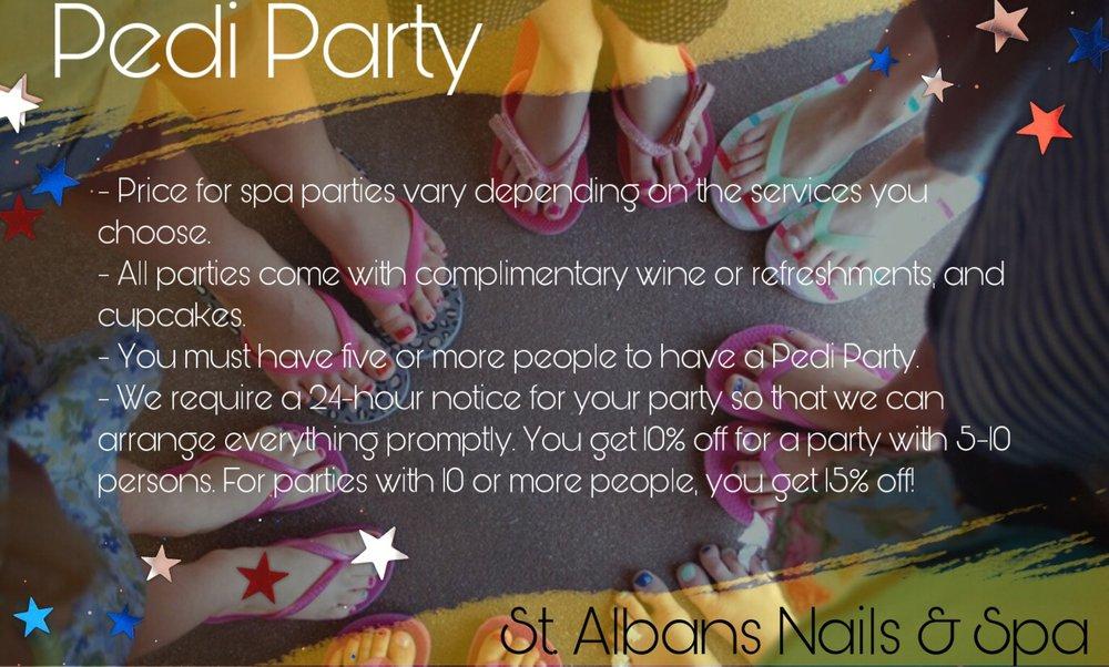 St.Albans Nail & Spa: 1457 Maccorkle Ave SW, Saint Albans, WV