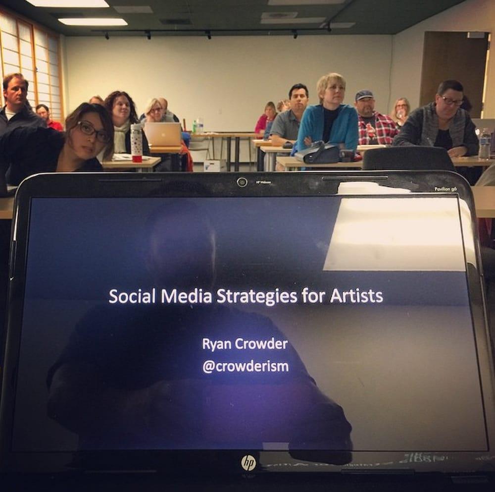 Ryan Crowder Social Media Strategy