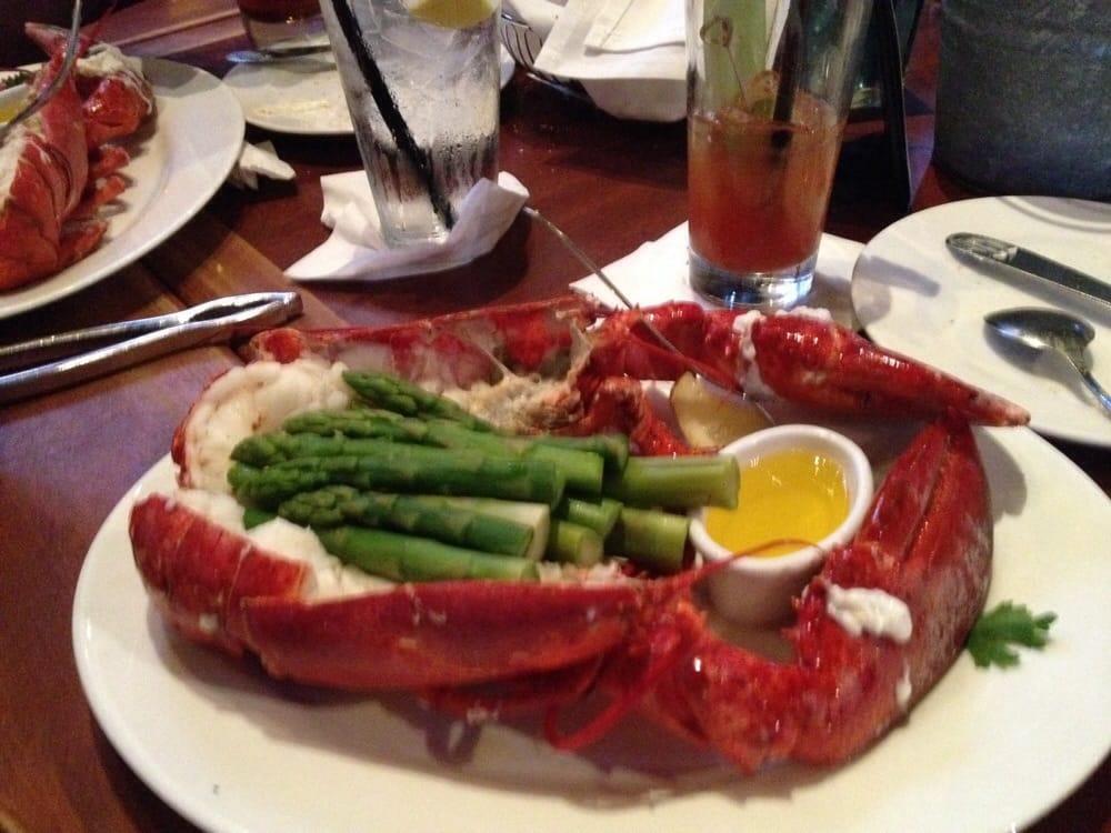 2 lbs lobster w asparagus yelp for Fish enterprise santa monica