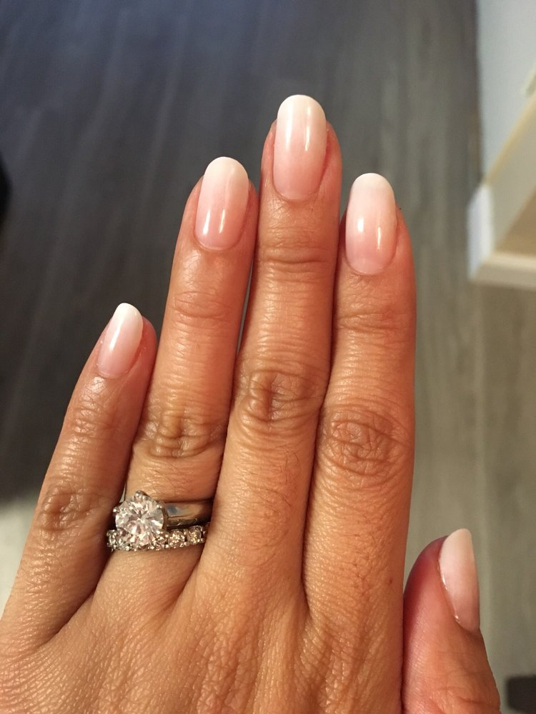 Ombre French Gel Manicure
