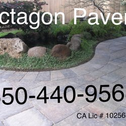 Octagon Pavers Cobblestone Nicolock Pavers Creating A Concrete - Concrete octagon patio pavers