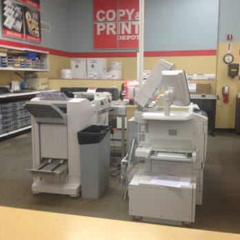 Print and Copy services produces high-quality custom printing and fast turnaround at a great price. Easily find local stores near you offering printing, shipping and packing services. Considering the availability of a network of regional print centers, Office Depot printing services will have you covered whether your job is big or small.