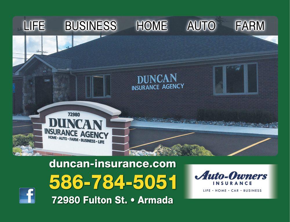 Duncan Insurance: 72980 Fulton St, Armada, MI