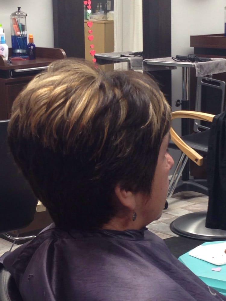 Chunky Highlights On Short Hair Yelp
