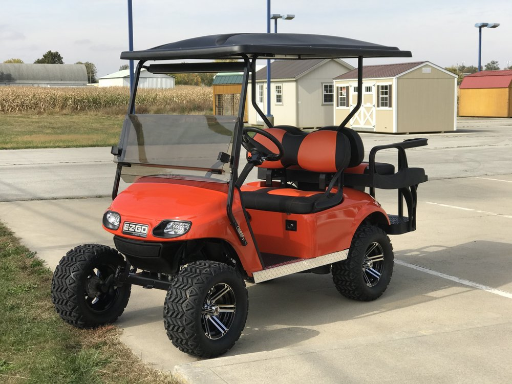D & R Golf Cars: 2225 State Route 703, Celina, OH