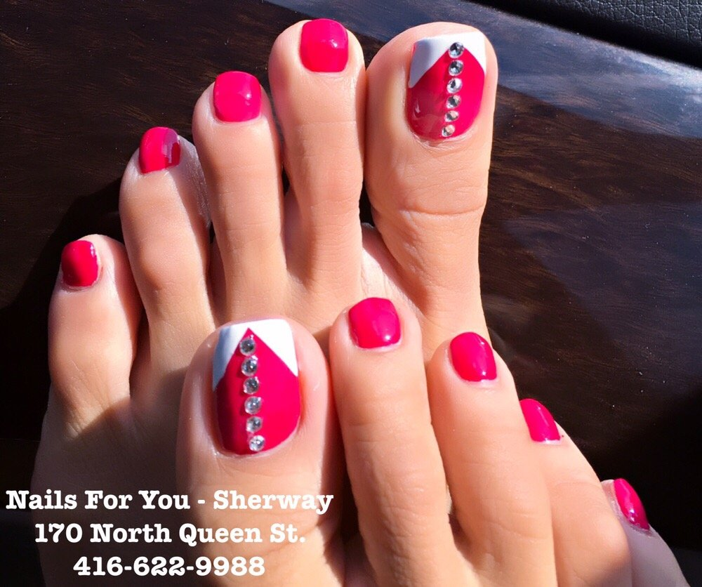 Toe nails design. One of our new OPI selection for Fall 2016 - Yelp