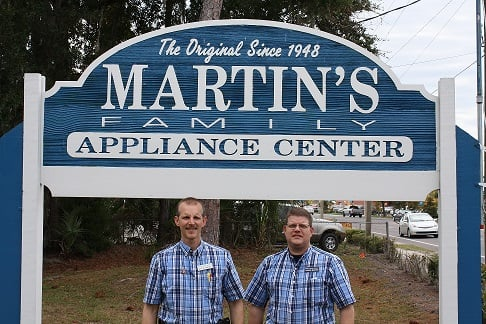 Chris And Travis Martin Martin S Family Appliance Center