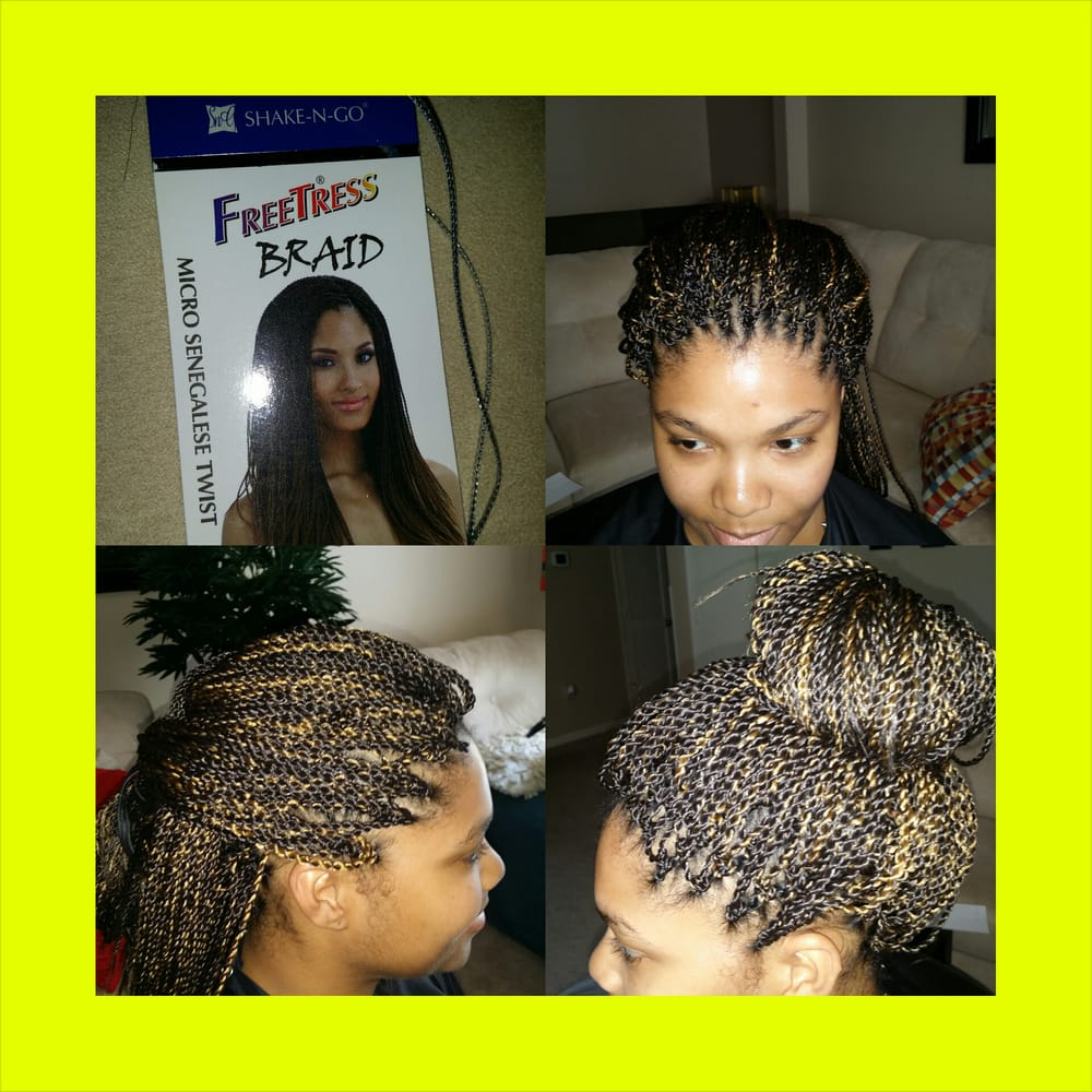 Pretwisted Micro Senegalese Twist Crochet Braids Yelp