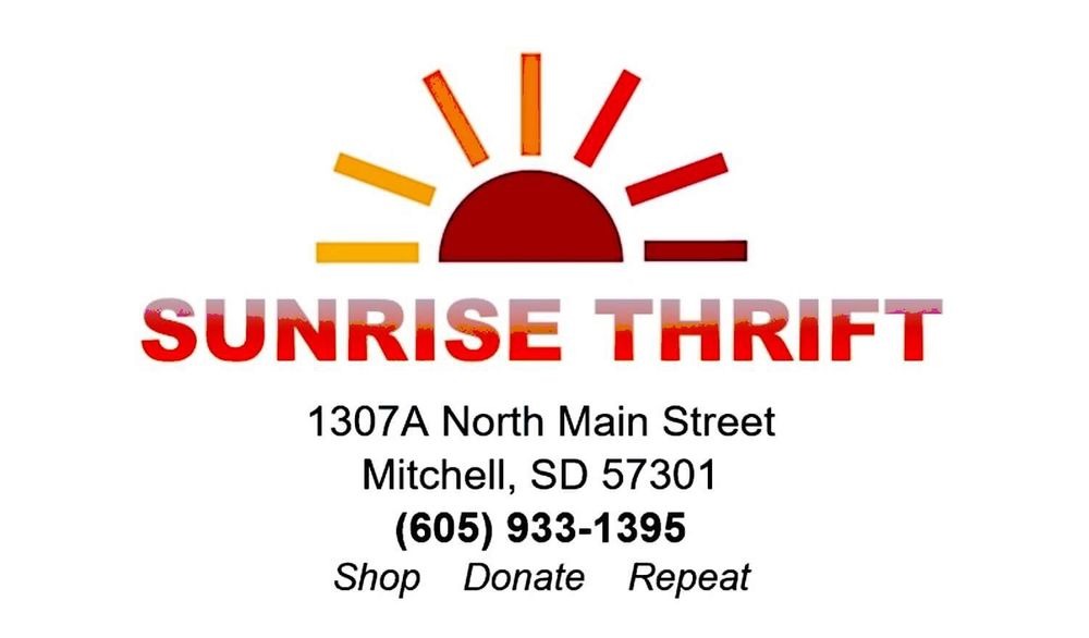 Sunrise Thrift: 1307 N Main St, Mitchell, SD
