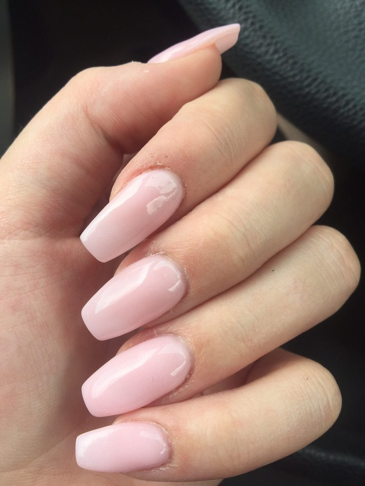 ANC dip powder nails by Chi and her husband - Yelp