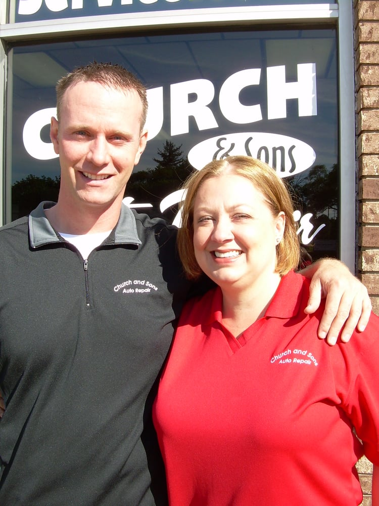Church and Sons Auto Repair: 1430 Flushing Rd, Flushing, MI