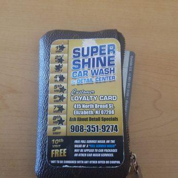 Supershine Car Wash Elizabeth Nj Elizabeth Nj