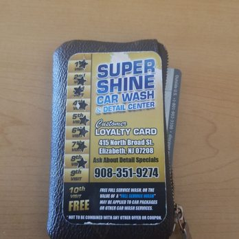 Super Shine Car Wash Elizabeth Nj