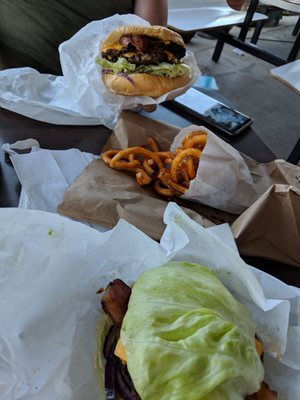 Photo Of 101 Drive In Willits Ca United States Double Cheeseburger