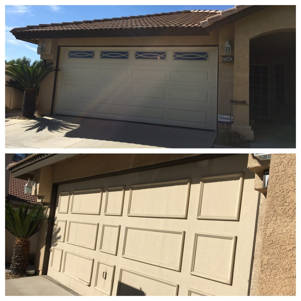 Finally Replaced My 20 Year Old Wooden Garage Door Great Service