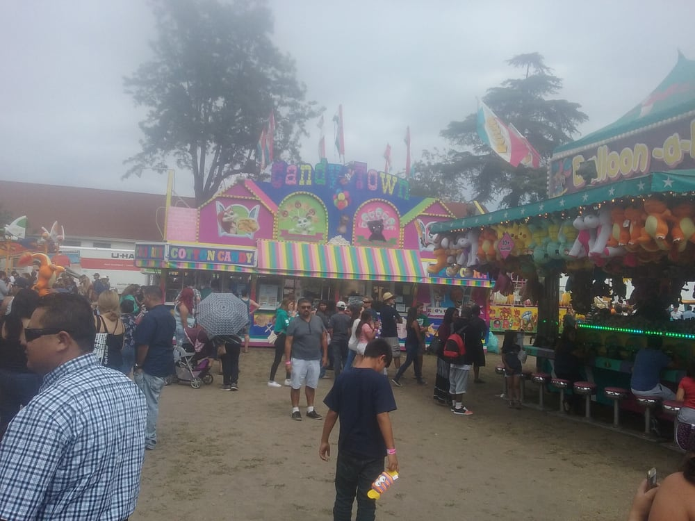 Lots of dirt flying around but still fun yelp for Strawberry festival garden grove