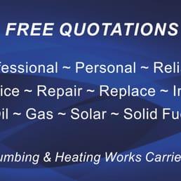 plumbing quotations