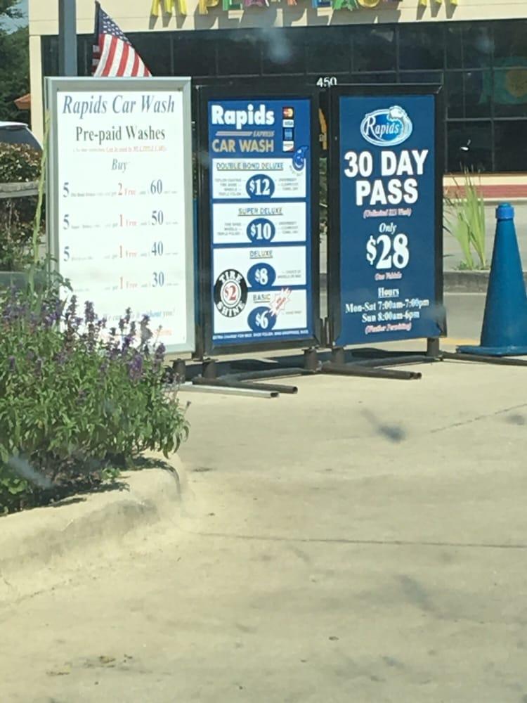 Rapids Car Wash Review