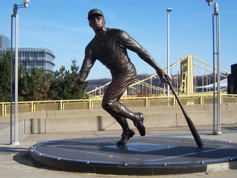 Image result for clemente statue
