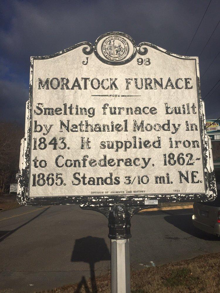 Moratock Furnace: Danbury, NC
