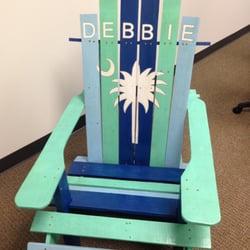 Photo Of Giant Babyu0027s Adirondack Chairs   Summerville, SC, United States.  Custom Palmetto