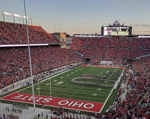 ohio stadium 411 woody hayes dr columbus oh sports teams mapquest