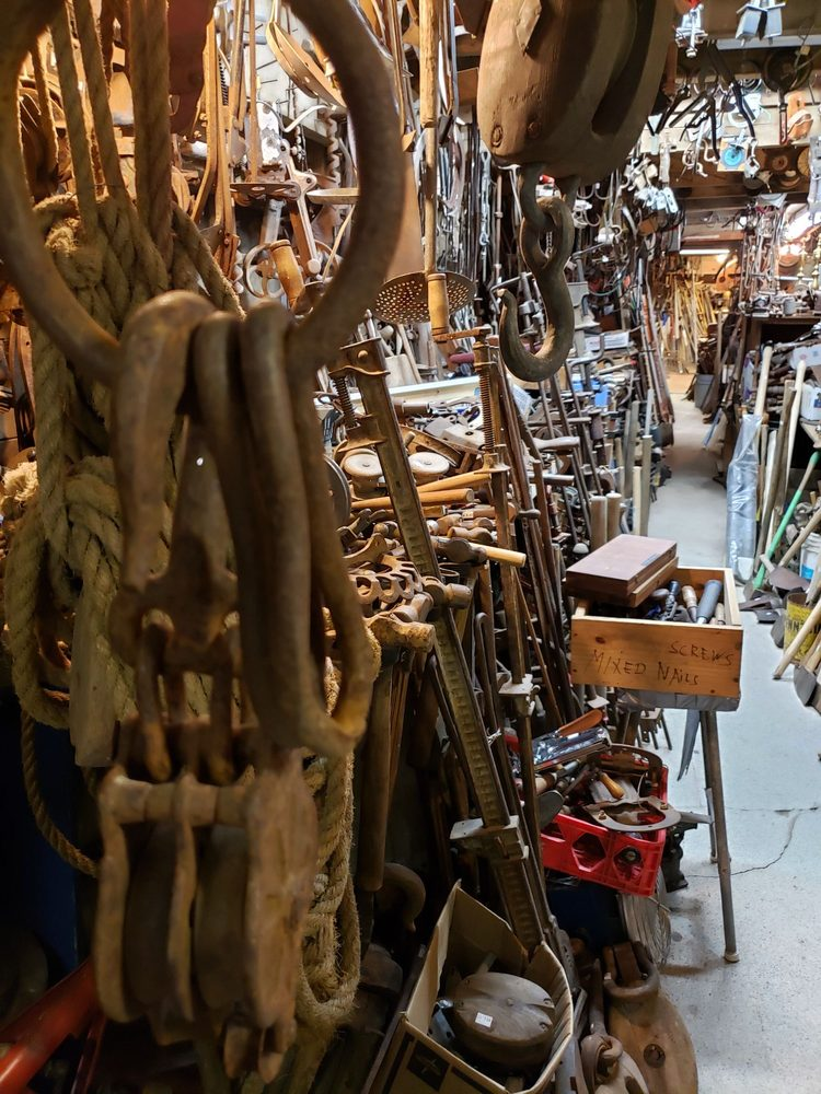 Treasures and Trash Barn: 156 E Main St, Searsport, ME