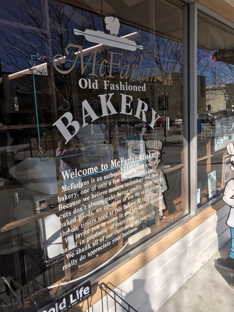 McFarlan Bake Shop: 309 N Main St, Hendersonville, NC