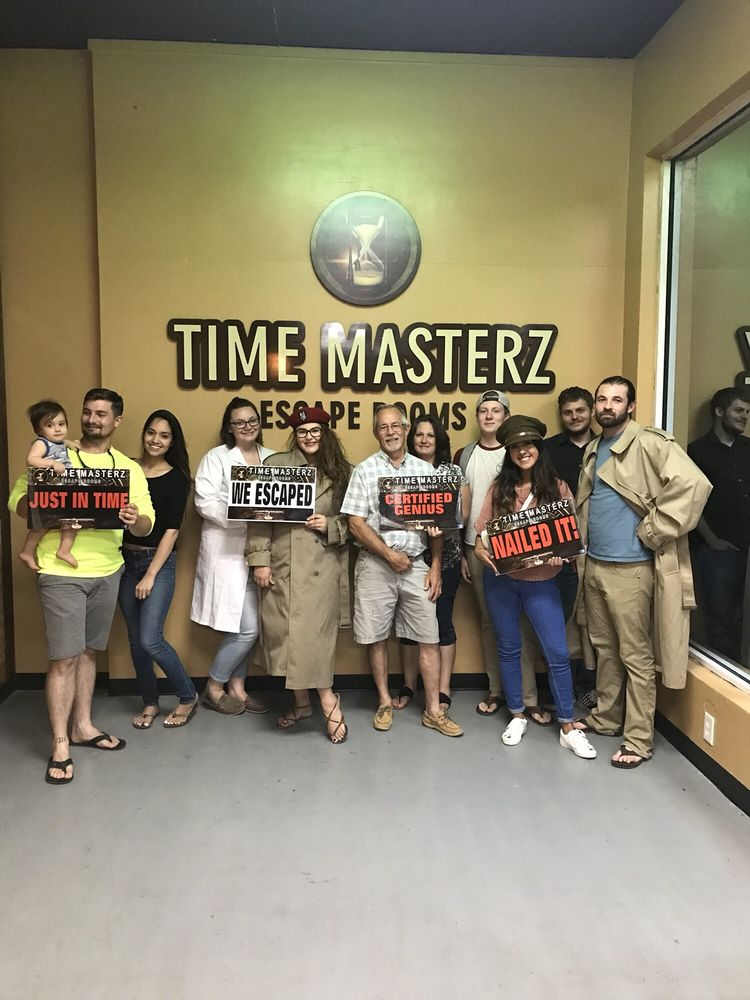 Time Masterz Escape Rooms: 137 W Nolana Ave, McAllen, TX