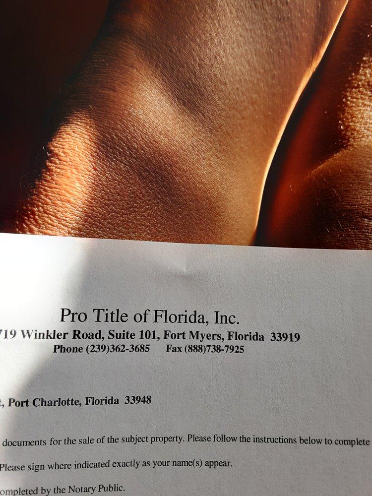 Pro Title of Florida