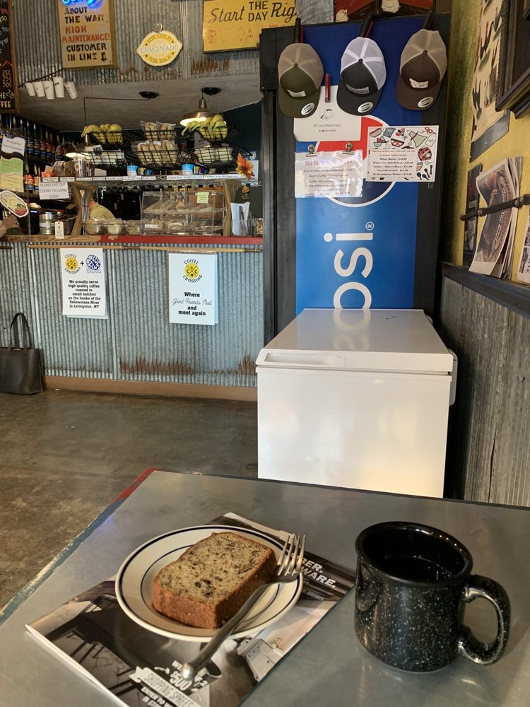 Coffee Crossing: 104 N 2nd St, Livingston, MT
