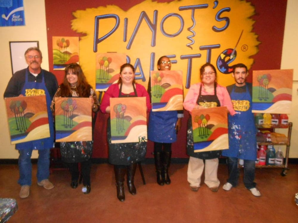 favorite girls night out byob texas painting classes
