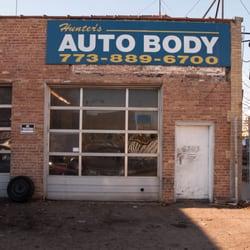 Hunters Auto Body Body Shops 6343 W Grand Ave Belmont