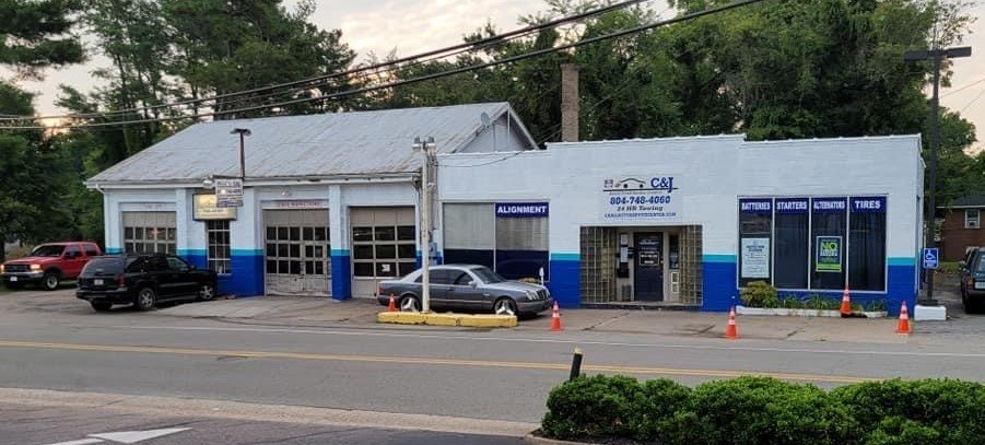 C & J Auto and Truck Service Center - Chester: 4205 Old Hundred Rd, Chester, VA