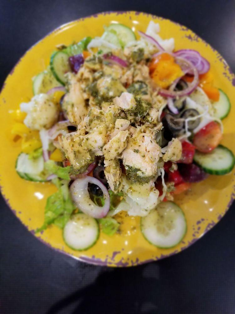 Food from Lemon Slice Cafe