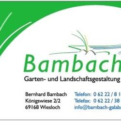 Landschaftsgestaltung  Bambach Garten- und Landschaftsgestaltung - Gardeners ...