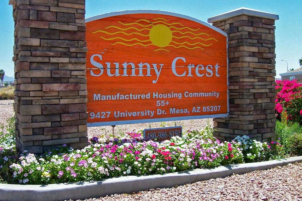 Sunny Crest Mobile Home Park: 9427 E University Dr Ofc, Mesa, AZ