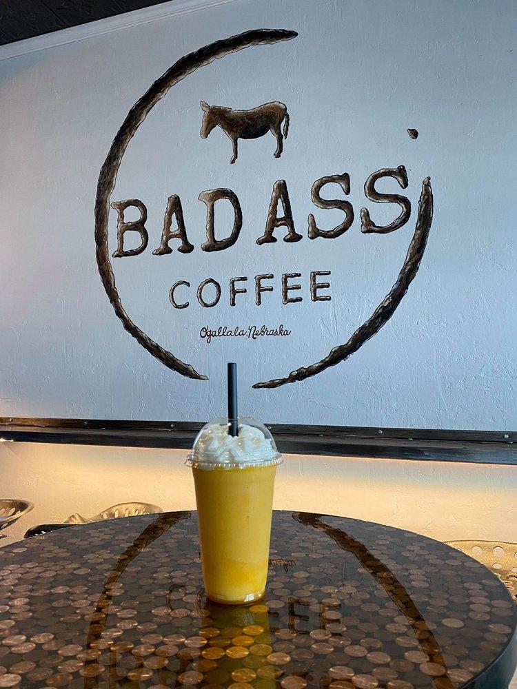 Badass Coffee: 501 W 1st St, Ogallala, NE