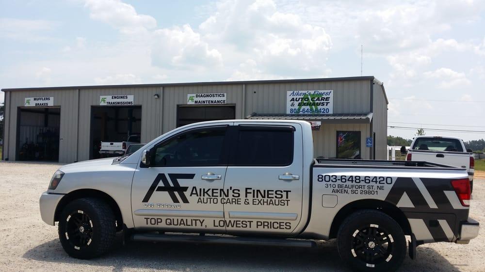 Aiken's Finest Auto Care & Exhaust: 310 Beaufort St NE, Aiken, SC