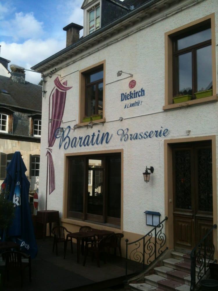 Le baratin gesloten belgisch rue des augustins 12 bouillon luxembourg reviews - Restaurant rue des bains luxembourg ...
