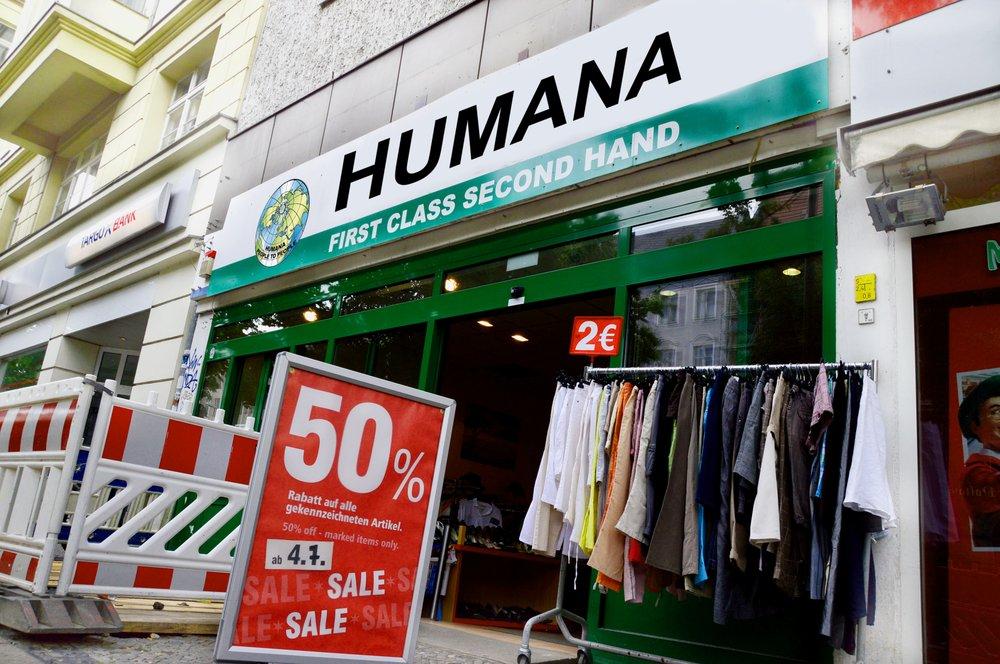 humana second hand 13 foto vintage seconda mano hauptstr 137 sch neberg berlin. Black Bedroom Furniture Sets. Home Design Ideas
