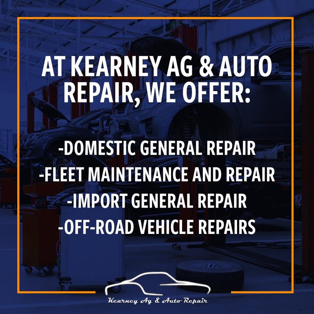 Kearney Ag & Auto Repair: 2305 Ave K, Kearney, NE