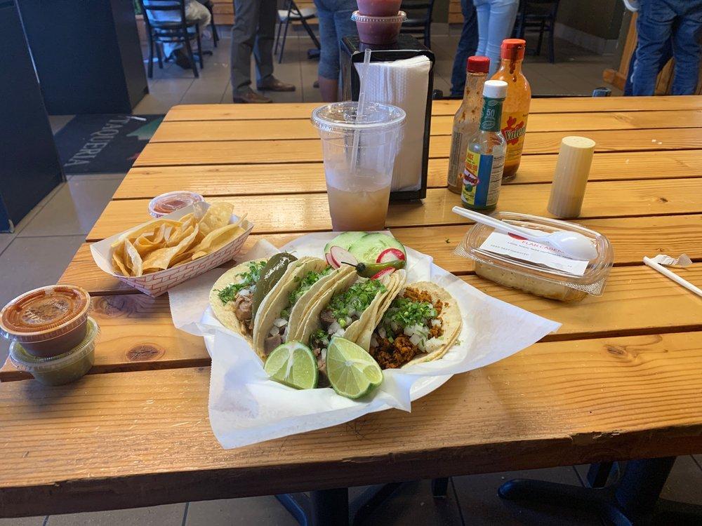 Food from Rivas Taqueria