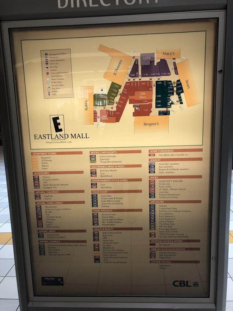 Eastland Mall: 1615 E Empire St, Bloomington, IL