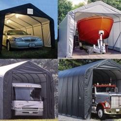 His co shelters 11 foto imprese edili 16720 hwy 9 se for Piani di garage rv staccati