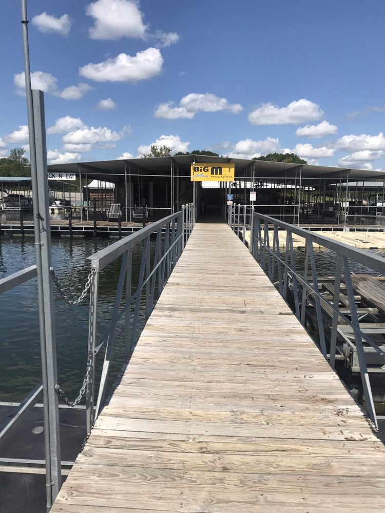 Big M Marina Dock-N-Eat: 26111 Big M Campground,, Cassville, MO