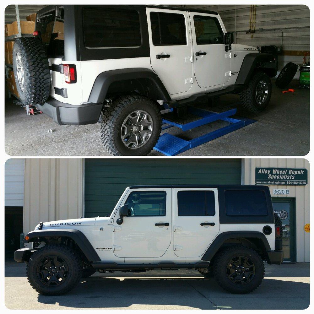 Alloy Wheel Repair Specialists of Richmond: 3620 Hendricks Rd, Midlothian, VA